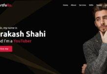 Responsive Personal Portfolio Website using HTML CSS & JavaScript
