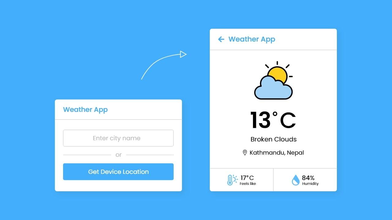Build Weather App in JavaScript